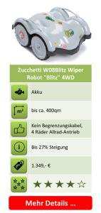 Rasenmäher-Roboter - Zucchetti W08Blitz Wiper Robot Blitz 4WD
